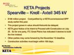 keta projects spearville knoll axtell 345 kv