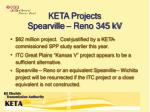 keta projects spearville reno 345 kv