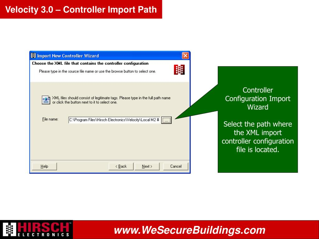 Velocity 3.0 – Controller Import Path