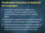 predictable evolutions in national qi campaigns13