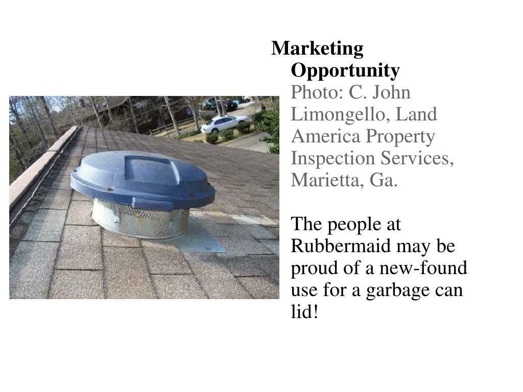Marketing Opportunity
