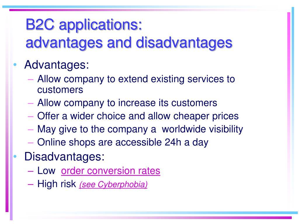B2C applications: