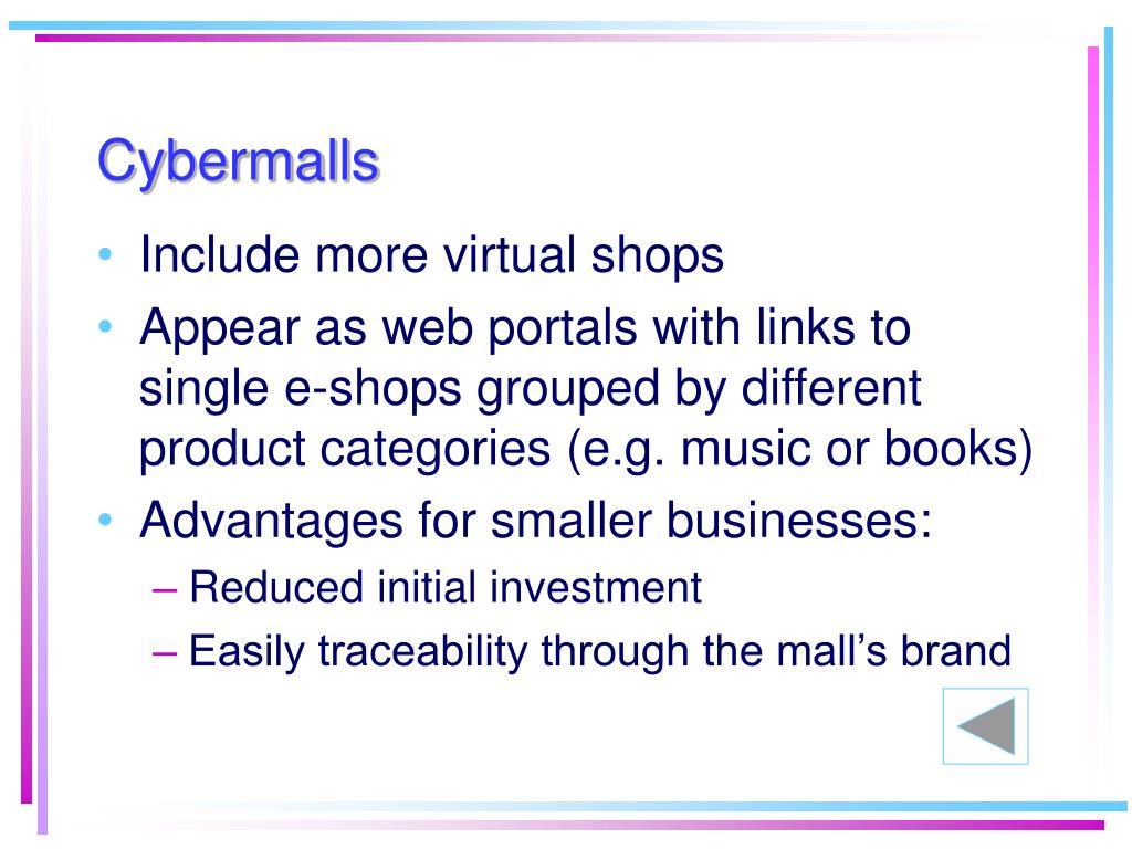 Cybermalls