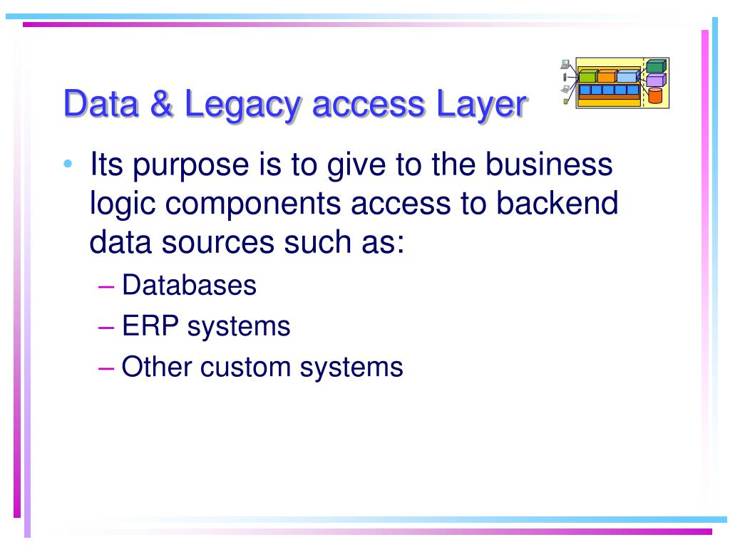 Data & Legacy access Layer