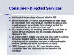 consumer directed services9