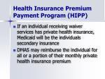 health insurance premium payment program hipp