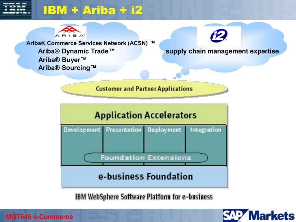 IBM + Ariba + i2