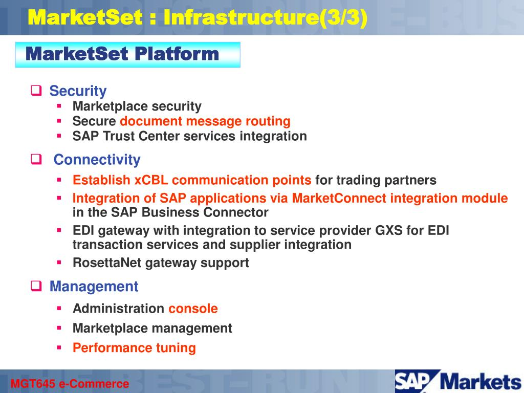 MarketSet Platform