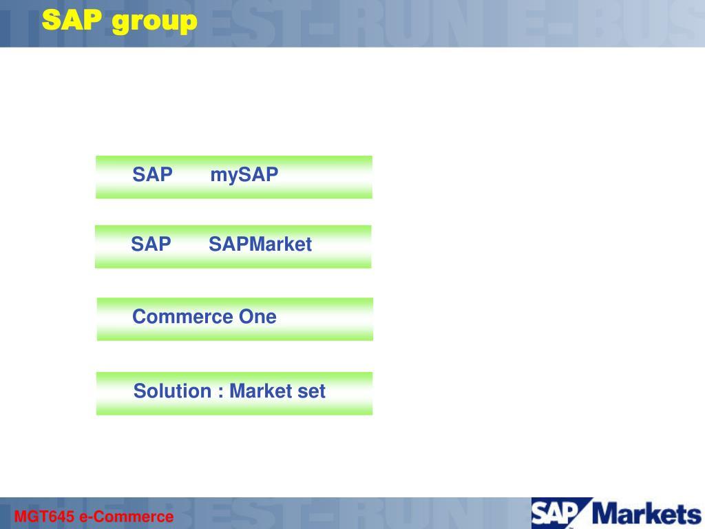 SAP group