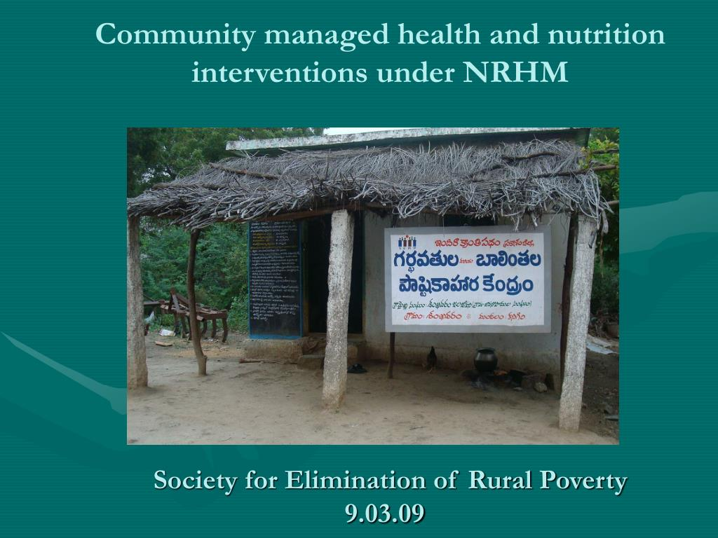 society for elimination of rural poverty 9 03 09