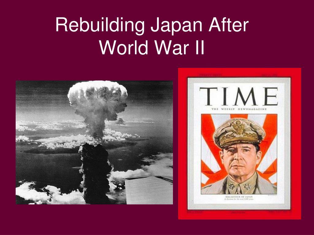 Rebuilding Japan After