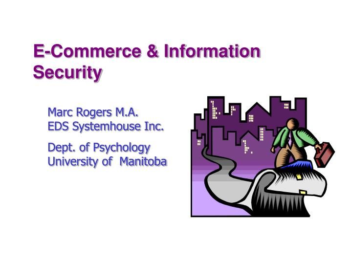 E commerce information security