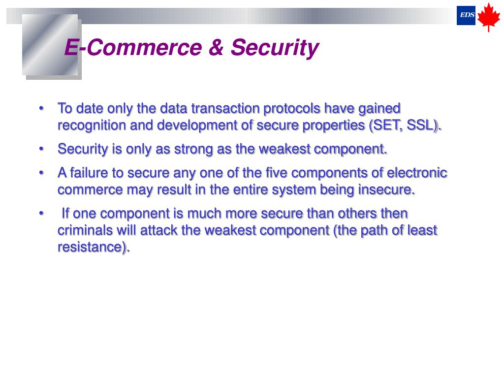 E-Commerce & Security
