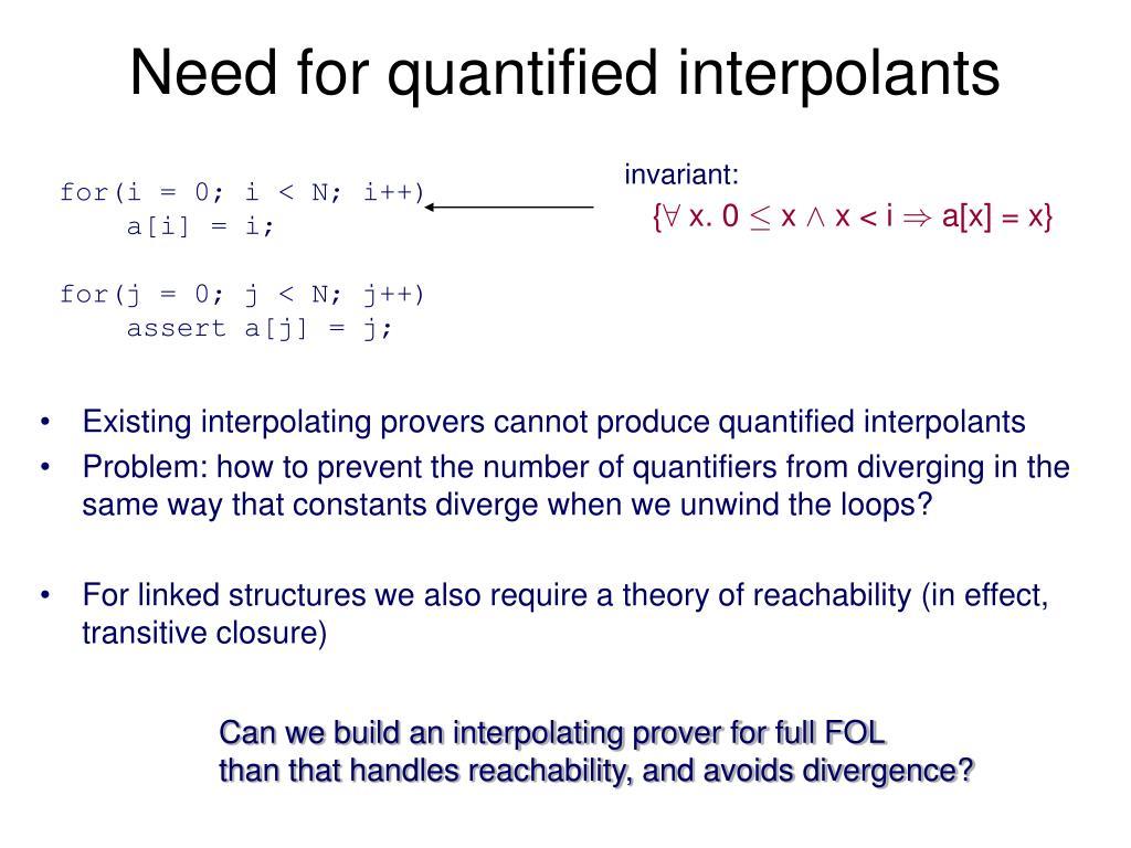 invariant: