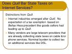 does quill bar state taxes on internet services14