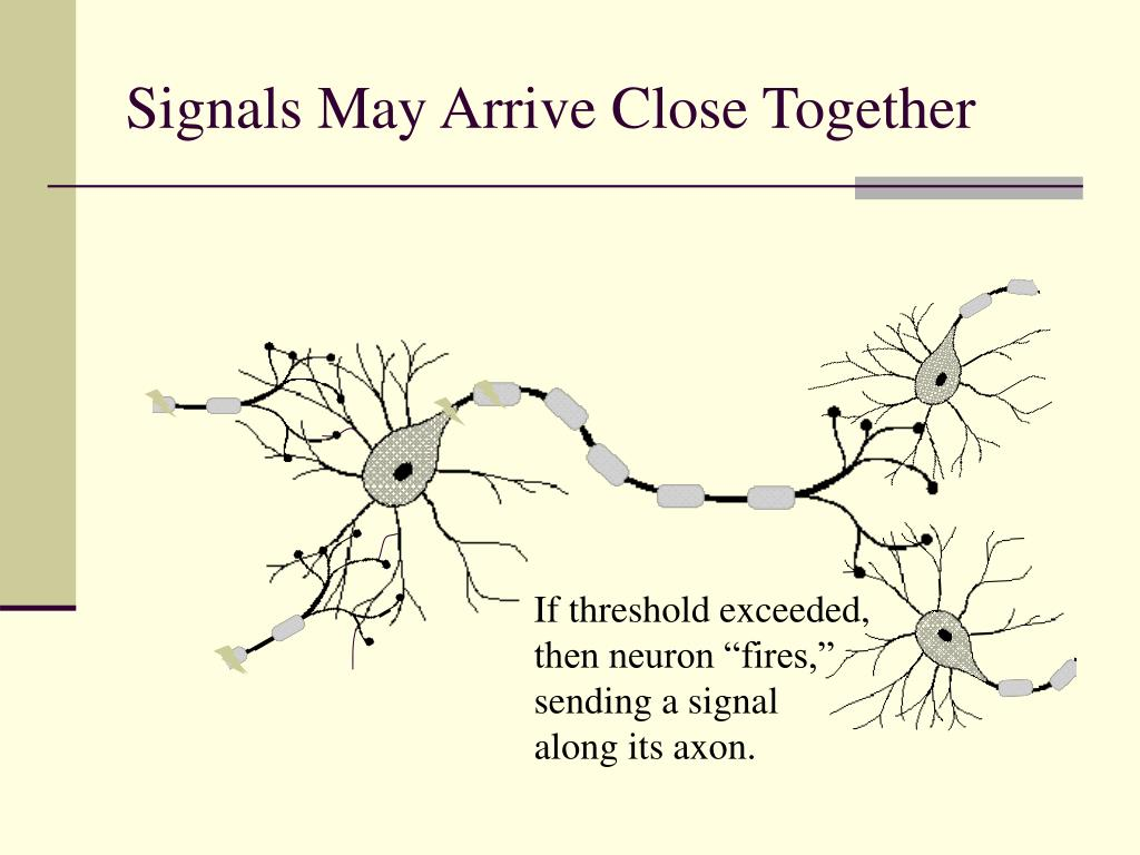 Signals May Arrive Close Together