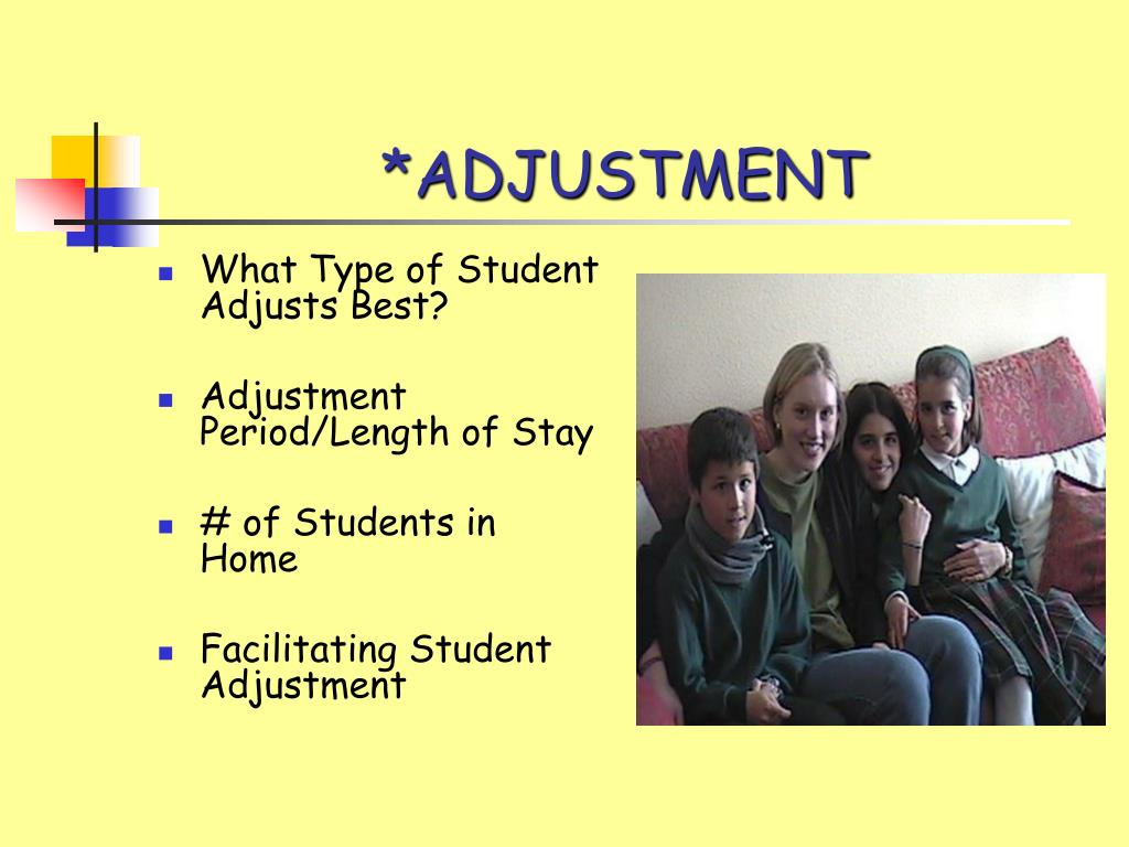 *ADJUSTMENT