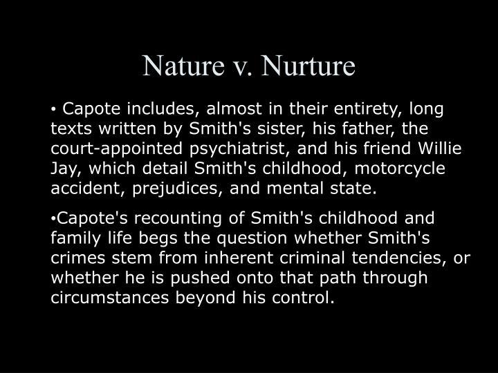 Nature vs nurture in in cold