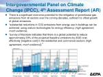intergovernmental panel on climate change ipcc 4 th assessment report ar