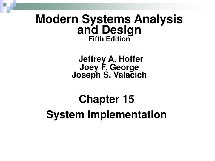 Chapter 15 system implementation l.jpg