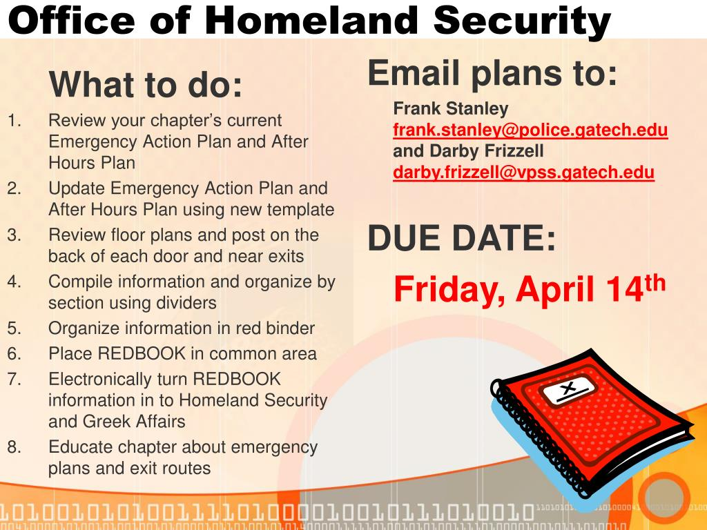 Office of Homeland Security