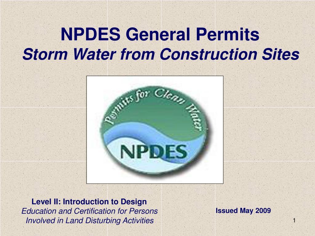 NPDES General Permits