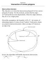 intersection intersection of convex polygons43