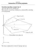 intersection intersection of convex polyhedra75