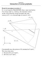 intersection intersection of convex polyhedra79