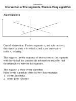 intersection intersection of line segments shamos hoey algorithm9