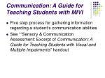 communication a guide for teaching students with mivi69