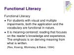 functional literacy17