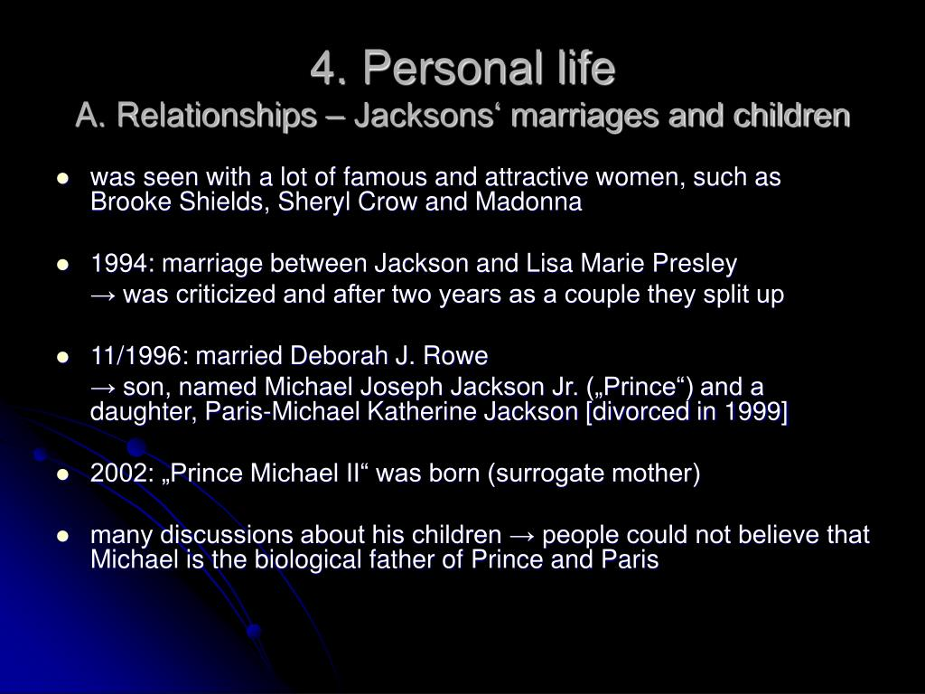 4. Personal life