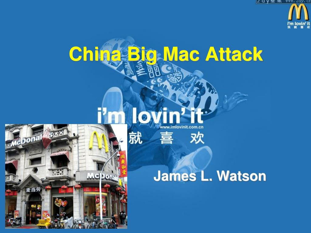 china big mac attack