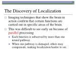 the discovery of localization