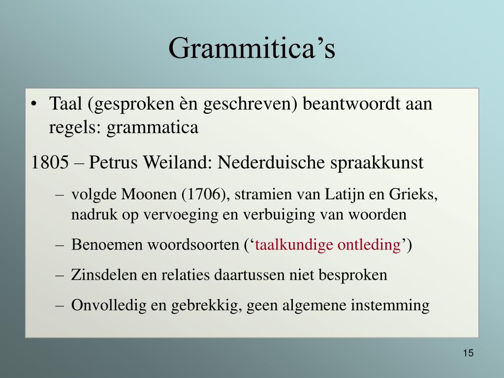 Grammitica's