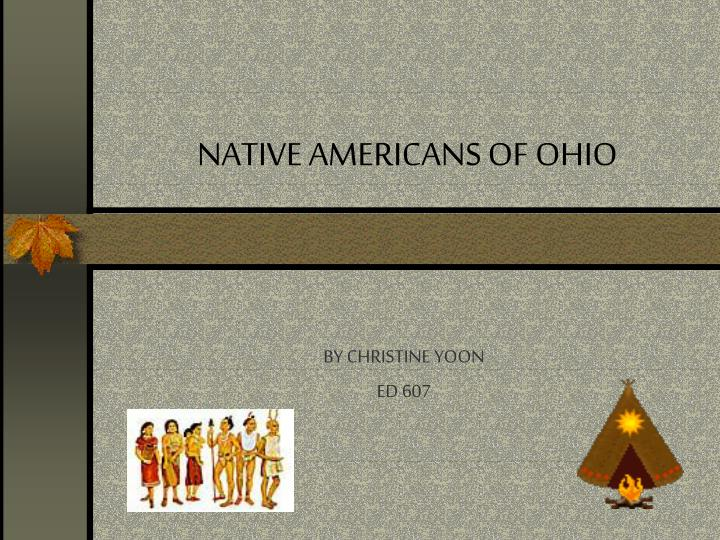 Native americans of ohio l.jpg