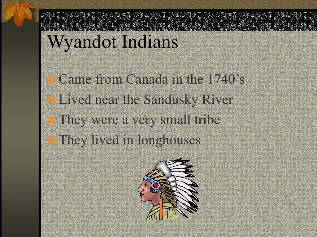 Wyandot Indians