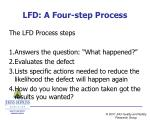 lfd a four step process