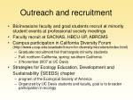 outreach and recruitment14