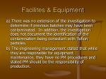 facilites equipment48