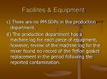 facilites equipment49