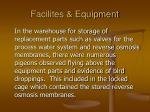 facilites equipment53