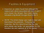 facilites equipment58