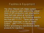 facilites equipment63