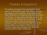 facilites equipment64