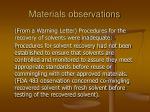 materials observations82