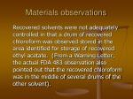 materials observations83