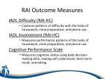 rai outcome measures2
