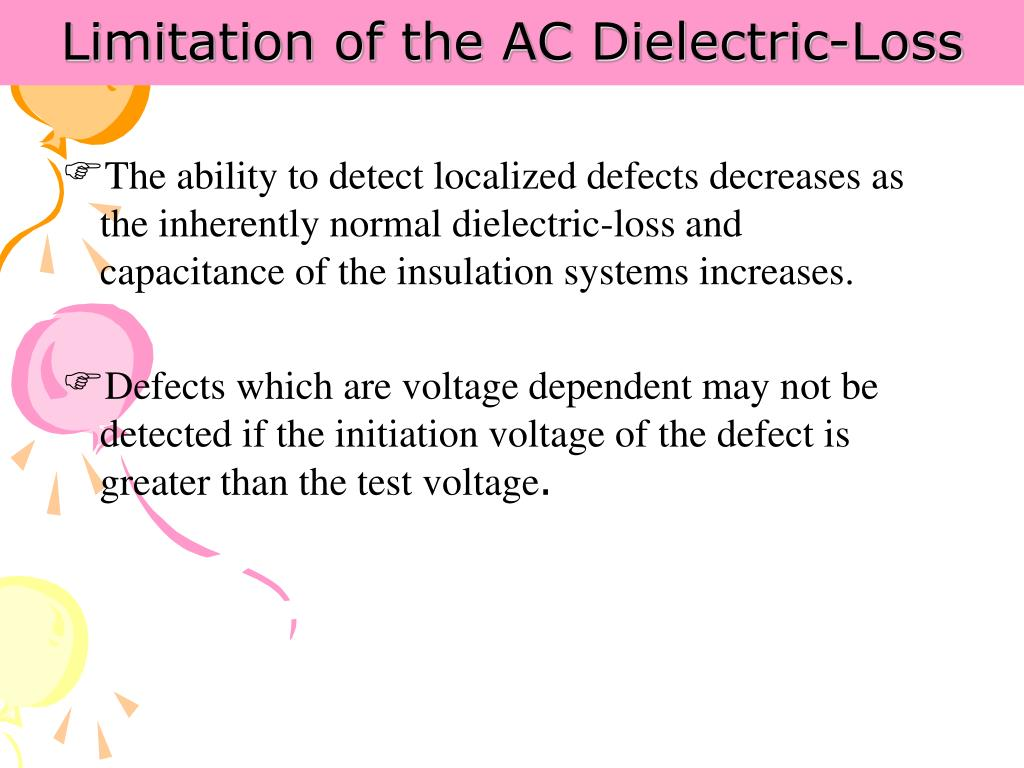 Limitation of the AC Dielectric-Loss